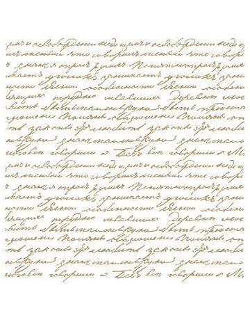 Stencil Deco Fondo 031 Texto Manuscrito. Medidas aproximadas: Medida exterior del stencil: 20