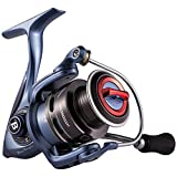Bassdash BlueMagic Spinning Fishing Reel, Aluminum Body & Carbon Rotor, with Carbon Fiber Drag & Corrosion Resistant Bearings, in Sizes 2000, 3000, 4000, 5000, for Saltwater or Freshwater