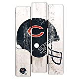 """WinCraft NFL Chicago Bears Wood Fence Sign, 11"""" x 17"""""""