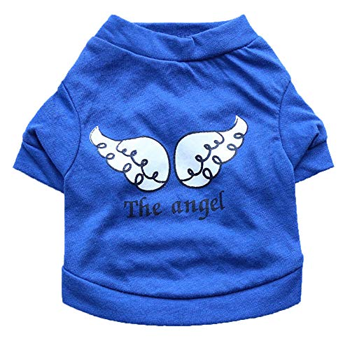 GOTOCO. Breathable Pet Dog/Cat T-Shirt Clothes, Spring Pet Sweatshirt Costumes for Puppies & Kittens with Cartoon…