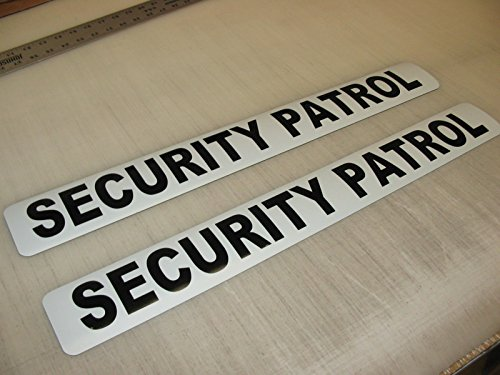Security Patrol Magnetic Signs to fit Car, Tow Truck, Van SUV us dot Approved Size
