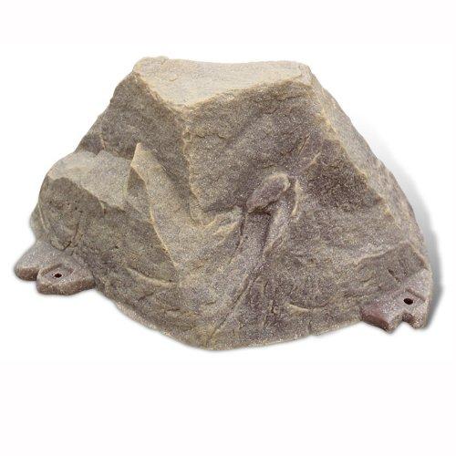 Small Garden Cover Rock - Dekorra Fake Rock Septic Cleanout Cover Model 105 Sandstone