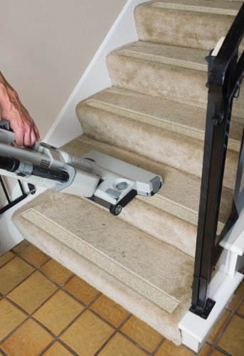 No-slip Strips - Non-Slip Nosing for Increased Safety On Carpeted Stairs, Beige-Gravel Color, MEDIUM Grit Traction for Indoor Carpeted Stairs, 34x2 Inches, 5 Strips by No-slip Strip (Image #7)