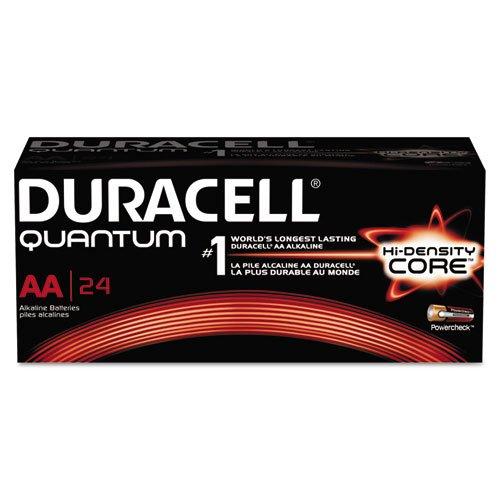 Duracell DURQU1500BKD Quantum AA Batteries, BX/24