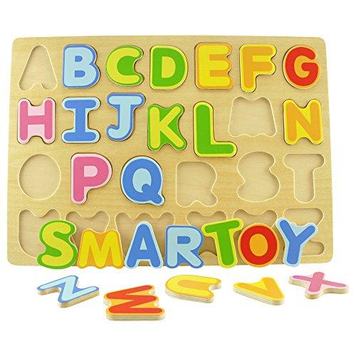 Wooden Alphabet Puzzles Development Eco Friendly product image