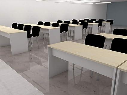 Mesas para aulas para 3 personas. Ideal para oficinas ...