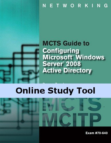 LabConnection for MCTS Guide to Configuring Microsoft Windows Server 2008 Active Directory (Exam #70-640), 1st Edition
