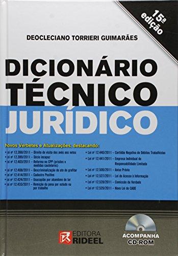 Dicionario Técnico Jurídico