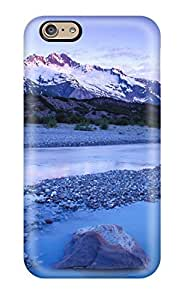 Fashionable IFQoxBm1943hpbZX Iphone 6 Case Cover For Mountain Lumber River Much Blue Light Nature Other Protective Case