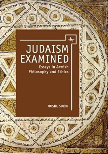com judaism examined essays in jewish philosophy and judaism examined essays in jewish philosophy and ethics touro college press