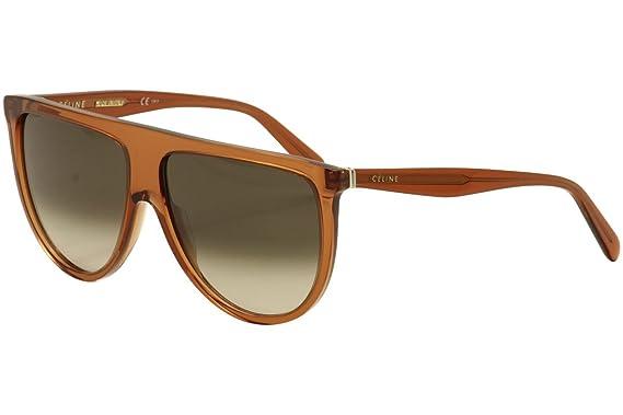 bc48dc7df9 Celine 41435 S EFB Dark Orange 41435 S Round Sunglasses Lens ...