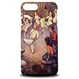 Foxercase Designs Vintage Peter Pan Sketch Art Drawing Hard Back Case Cover for Apple iPhone 7 Plus