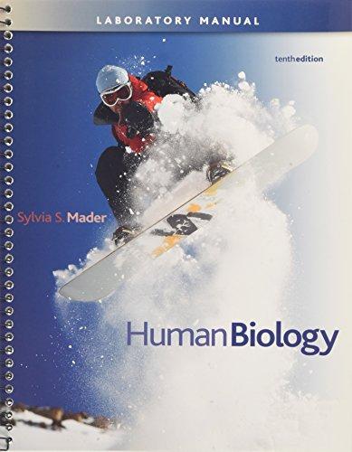 Lab Manual t/a Human Biology