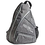 Franklin Sports Pickleball Bag - Official Bag of the US Open - Gray/Gray