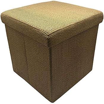 Amazon Com Neatorg Woven Folding Storage Ottoman Small
