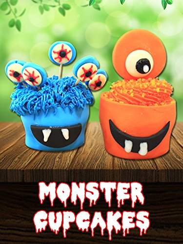 Monster Cupcakes (Orange Halloween Cupcakes Recipes)