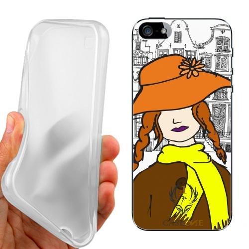 CUSTODIA COVER CASE CASEONE WOMAN IN LOVE AMSTERDAM PER IPHONE 5 5G 5S