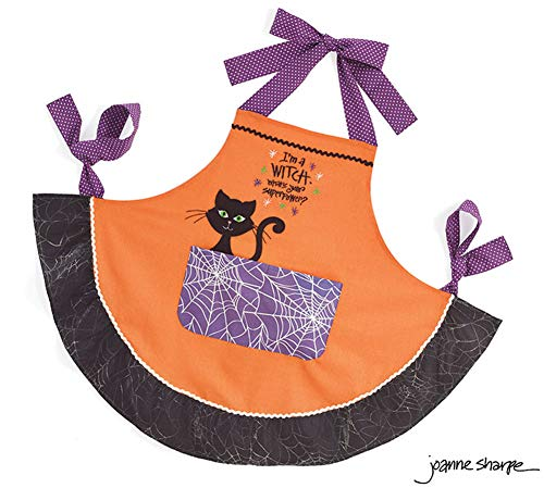 Burton and Burton Cotton Halloween Apron,