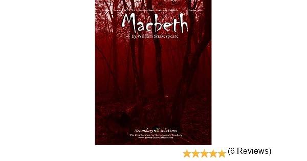 Amazon.com: Macbeth Teacher Guide - Literature Unit of lessons for ...