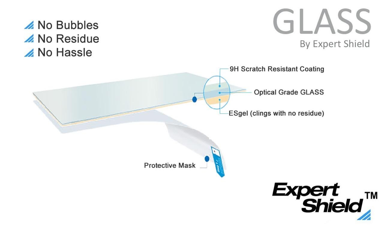 GLASS by Expert Shield - THE ultra-durable, ultra clear screen protector for your: Lumix FZ300 / FZ330 - GLASS by Expert Shield