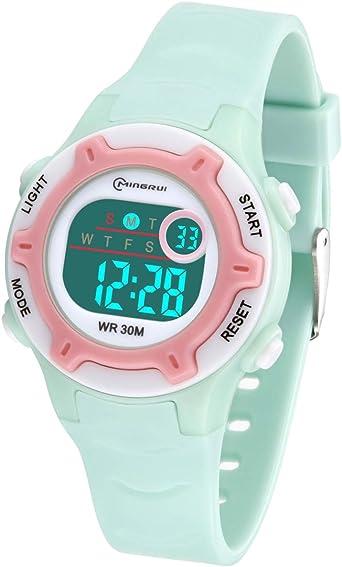 Relojes Infantiles para niños, Reloj Deportivo Digital al Aire ...