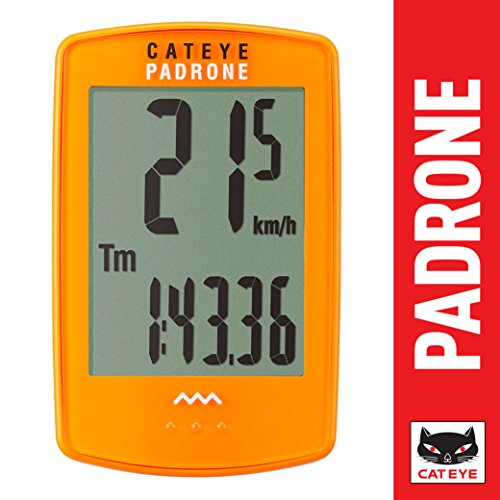 CatEye - Padrone, Cycle Computer, - Eyes Orange Cat