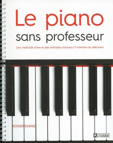 le piano sans professeur pdf t u00e9l u00e9charger  de roger evans  christine balta