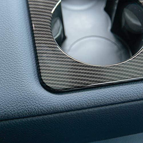 Voor Landrover Range Rover VELAR 2017, Carbon Fiber Stijl Achter Rij Bekerhouder Cover TrimAuto Accessoires