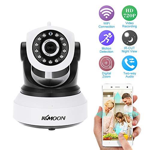 KKmoon Wireless WiFi 720P HD H.264 P2P 1MP AP IP Network Home IR Security Camera P/T Webcam from KKmoon