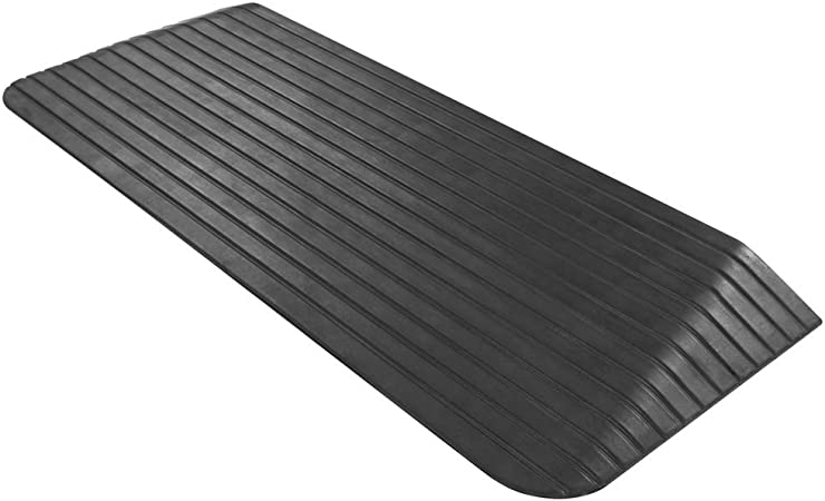 Silver Spring Solid Rubber Threshold Ramp 2 Rise Health Personal Care