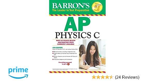 Amazon com: Barron's AP Physics C (9781438007427): Robert A