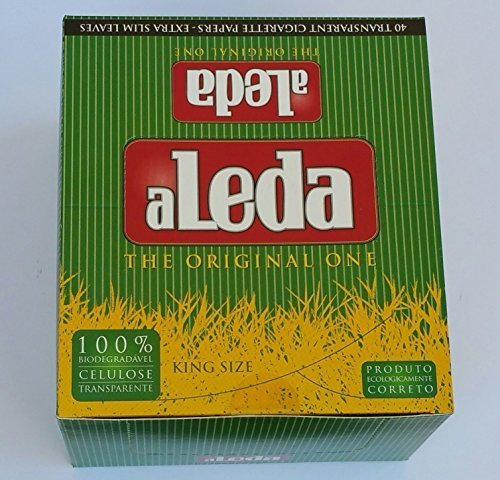 Rolling Papers King Size Transparent Box of 40 | Aleda (Rolling Transparent Papers)