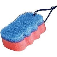 Suavipiel Esponja Baño, Color Azul y Rosa