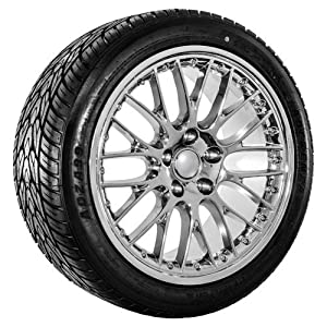 Amazoncom Audi Wheels Sku Inch Chrome Rims With Tires - Audi rims