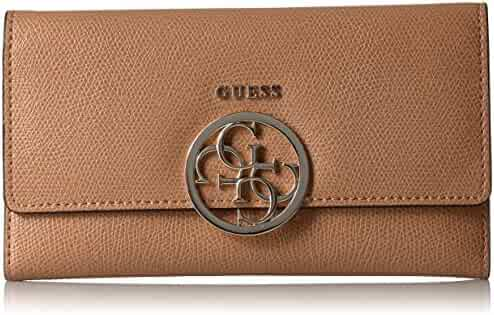 GUESS Devyn Slim Clutch - Caramel Wallet