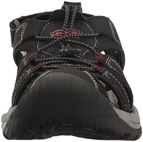 Sport Closed Trinidad Red Men's Toe Northside Black Sandal BqOgxn