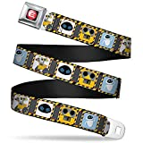 Buckle Down Mens Seatbelt Belt Wall-e Wdy288