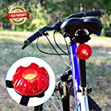 Meilan Bike Tail Light with Brake Sensing Bicycle Tail Light IPX6 Waterproof Easy Installation Ultra Durable LED Bike Tail Light Rechargeable for Your Cycling Safety(New Version)