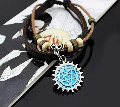Fairy Tail Lucy Natsu Dragneel Guild Symbol Wrist Bracelet (Kuroshitsuji)