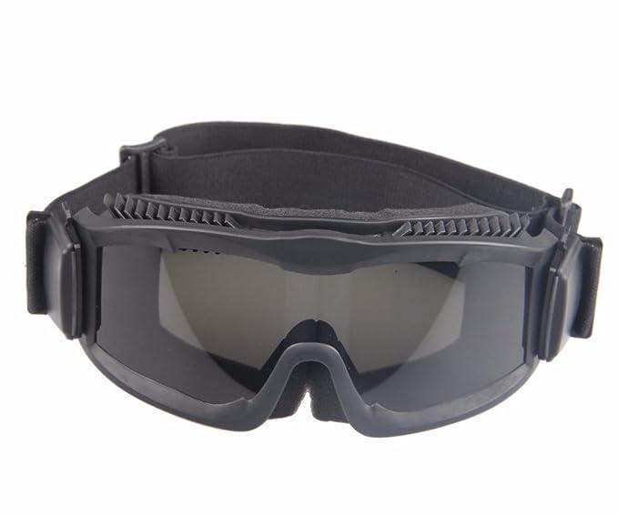 Gafas de sol militares Alpha Ballistic Tactical Army Sunglasses Airsoft CS Paintball Glasses 3 Kit de lentes