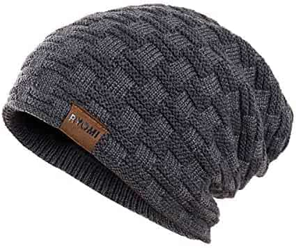 aab5158a909491 RYOMI Slouchy Beanie Hat for Women and Men, Variy Styles and Colors Fleece  Lined Oversized
