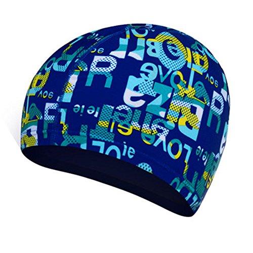 XINLIYA Chapeau de natation unisexe confortable et coloré