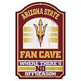 """WinCraft NCAA Arizona State University Wood Sign, 11"""" x 17"""""""