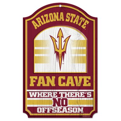 "Wincraft NCAA Arizona State University Wood Sign, 11"" x 17"" from Wincraft"