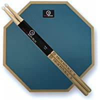 Drum Pad And Sticks By Drum Republic. 12 Inch Pad And...