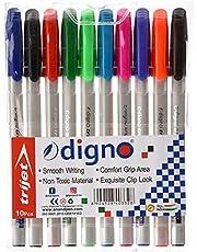 digno 8904128403328 Trijet Pen, 10 Colours