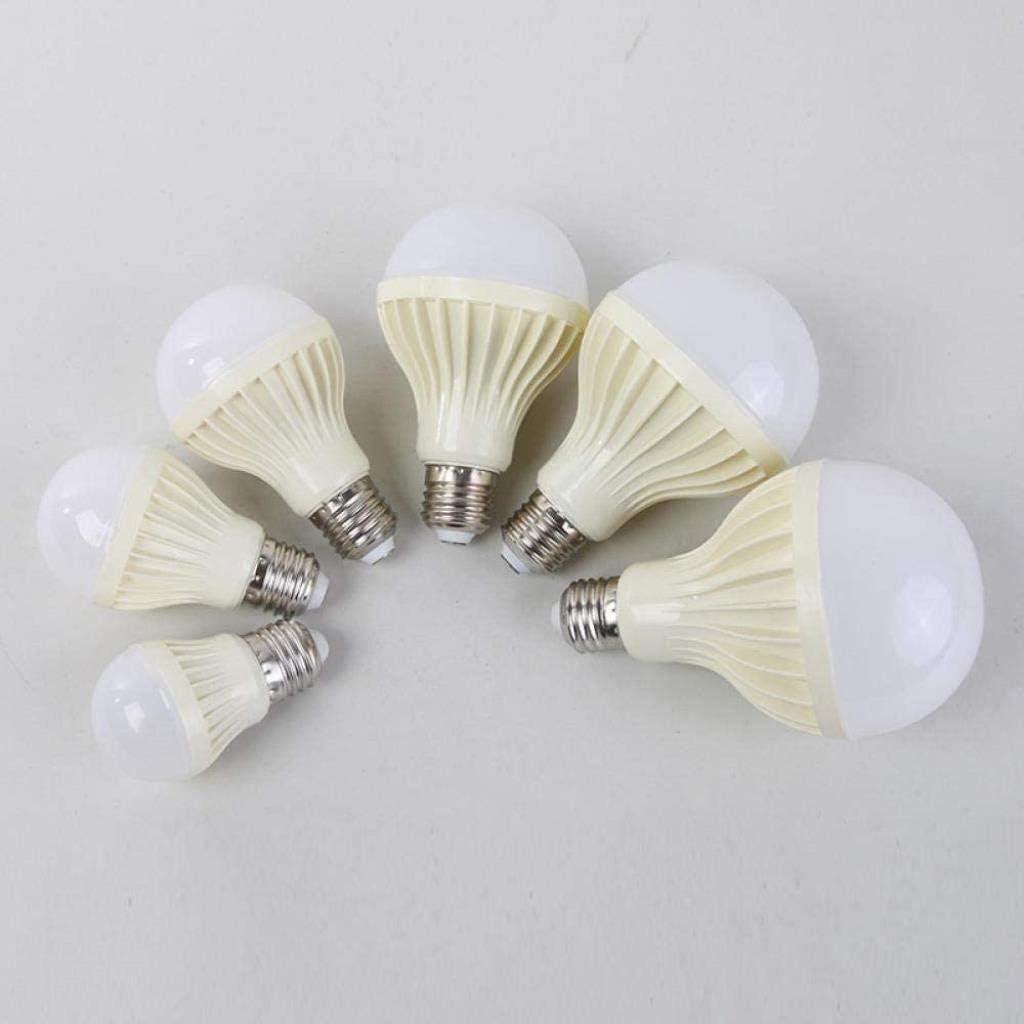 no logo Light Bulbs Energy-Saving Bulbs 7w White Light Warm Light LED Energy Saving Plastic Bubble