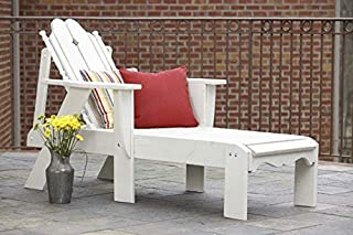 product image for Uwharrie Chair N181 Nantucket Chaise Lounge - White