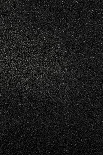 Allgala 12 Pack Glitter EVA Foam Paper 8 x 12inch Sheets-Black-CF85010