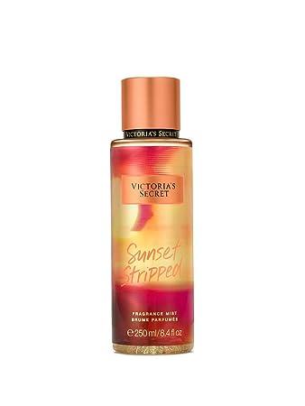 07f034e316 Amazon.com   Victorias Secret Pink Hot Summer Nights Fragrance Mist Sunset  Stripped   Beauty